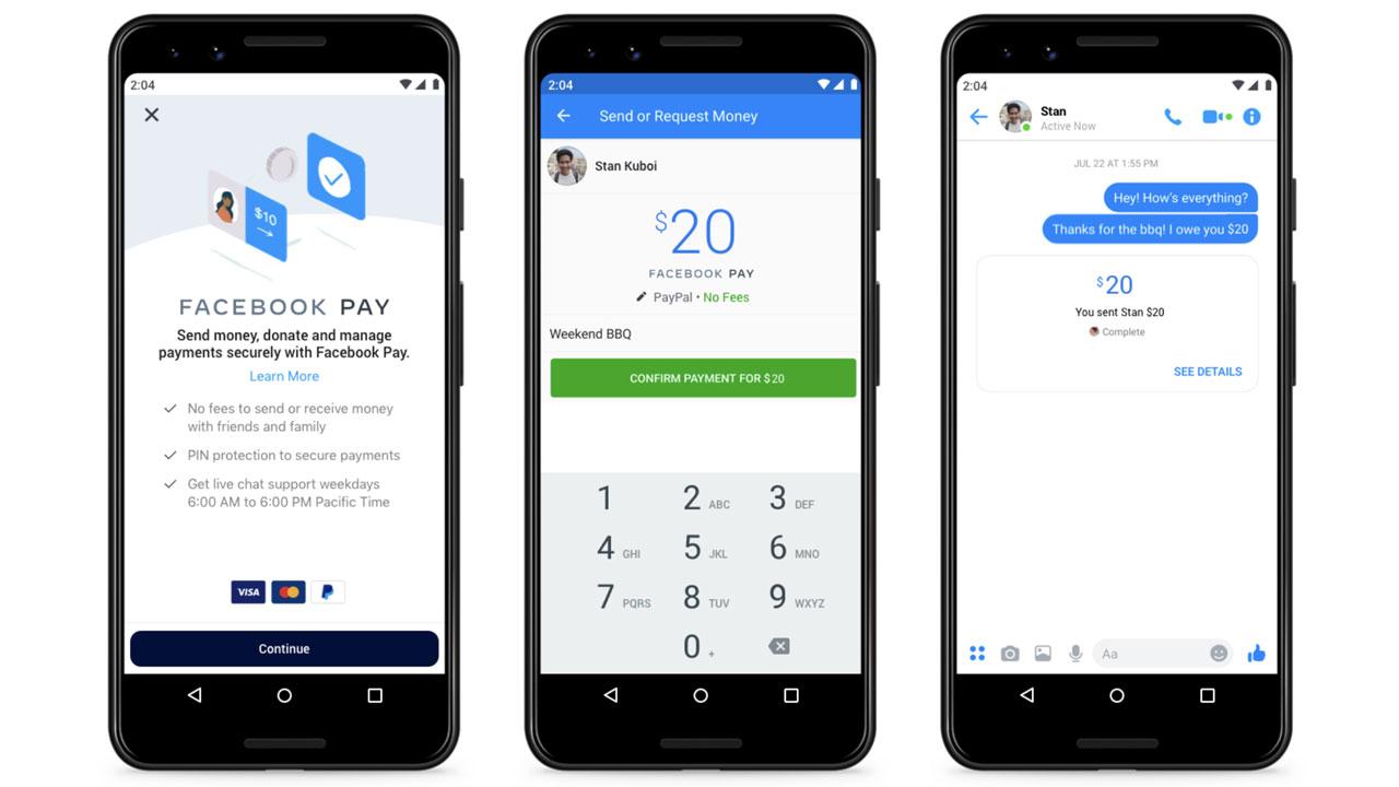 Facebook Pay, un nuevo método de pago para WhatsApp, Instagram y Messenger