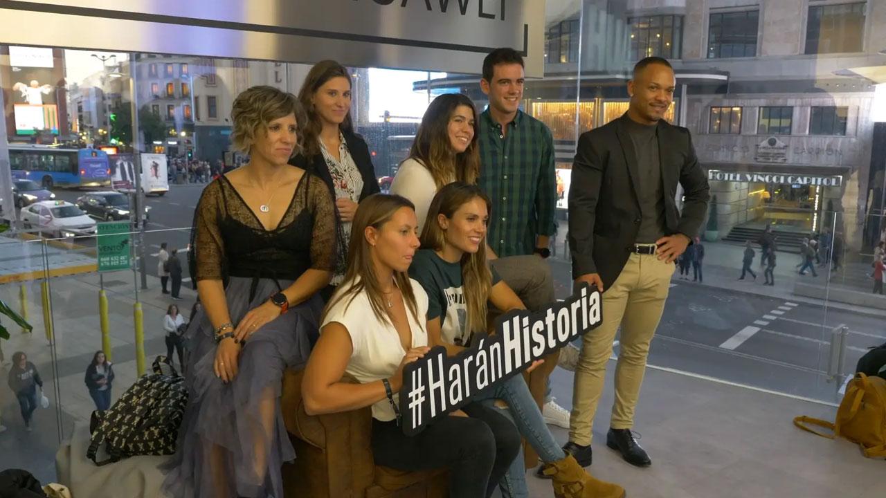 Harán Historia, el proyecto de mecenazgo deportivo de Huawei