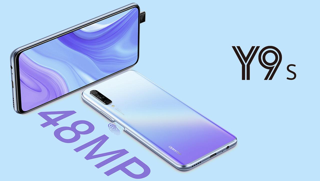 Huawei Y9s, pantalla sin muesca y con cámara triple de 48MP