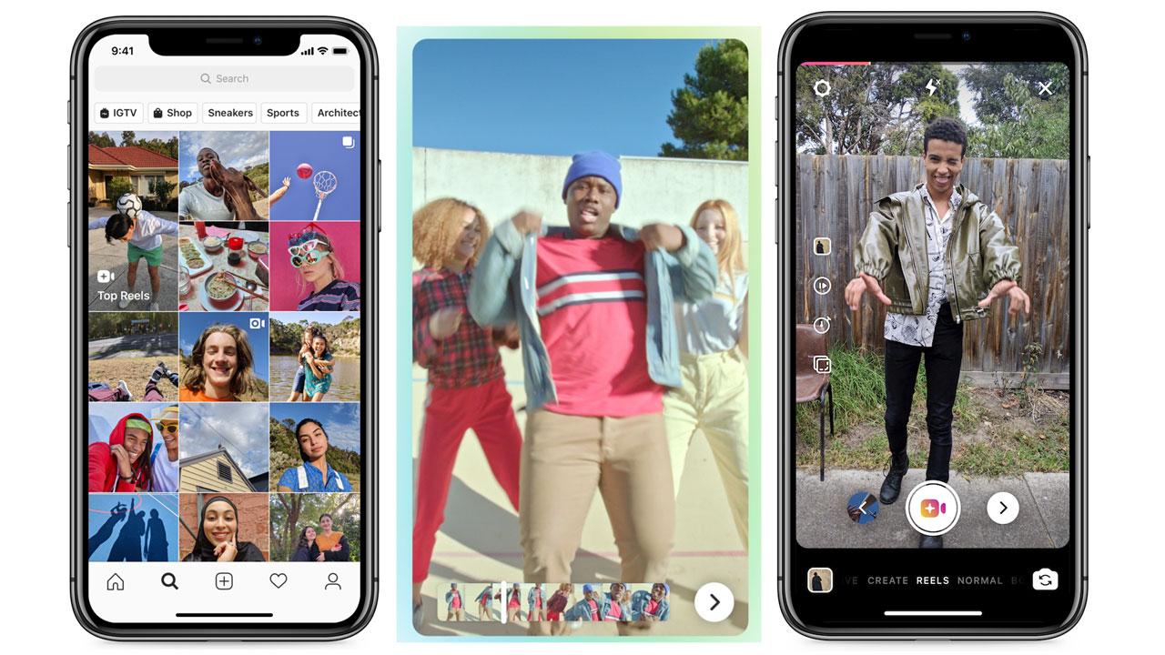 Instagram Reels, una función que pretende competir con Tik Tok