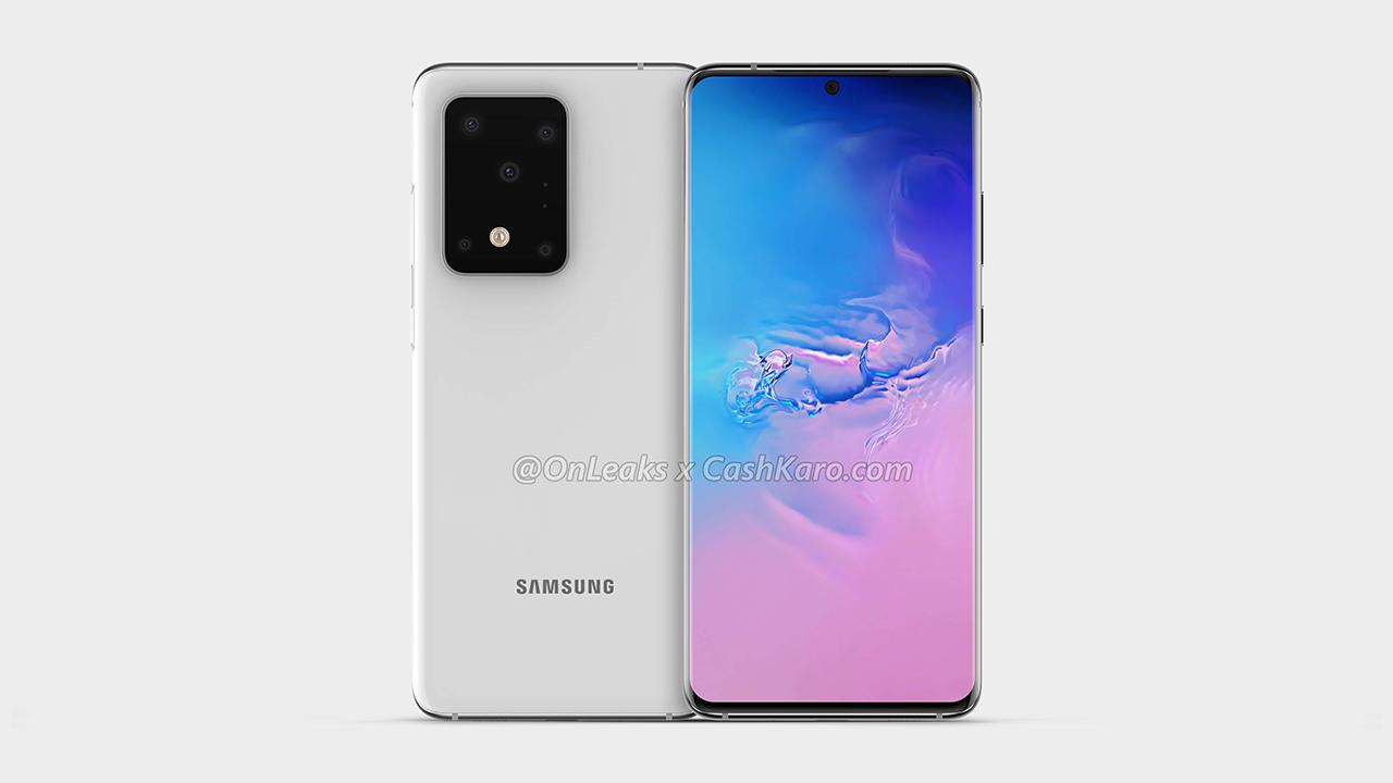 Renders del Samsung Galaxy S11 Plus revelan un diseño interesante