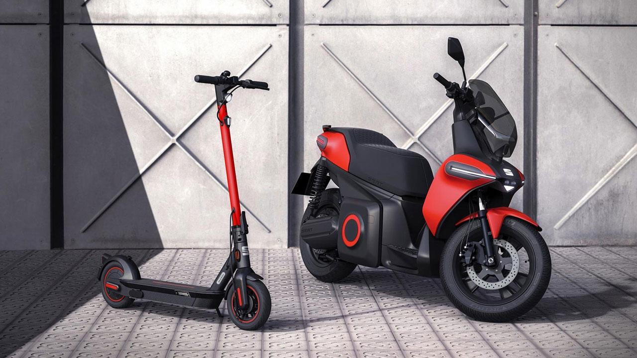 SEAT presenta su primera e-Scooter y nueva e-Kickscooter
