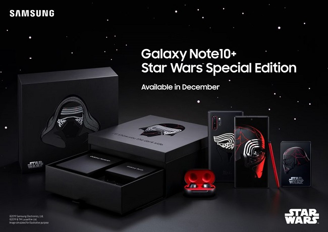 Samsung Galaxy Note10+ Star Wars