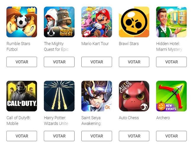 juegos google play awards 2019