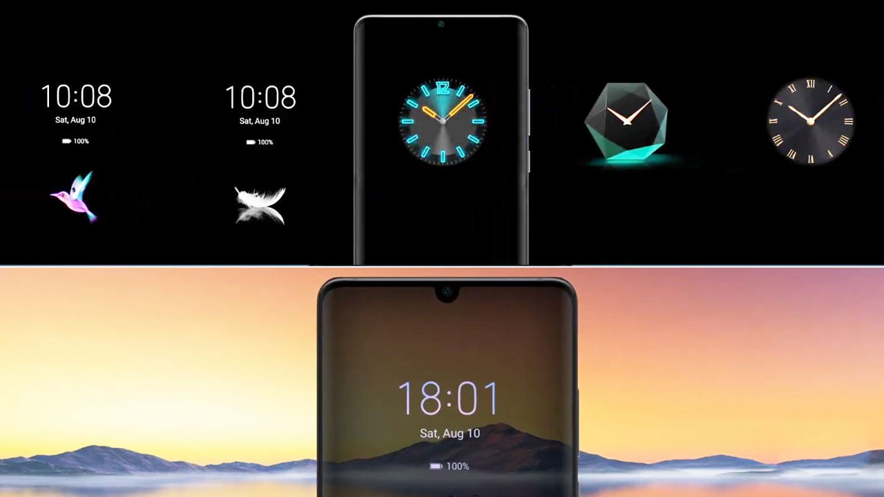 EMUI 10 añadirá Always On Display a más móviles Huawei en 2020