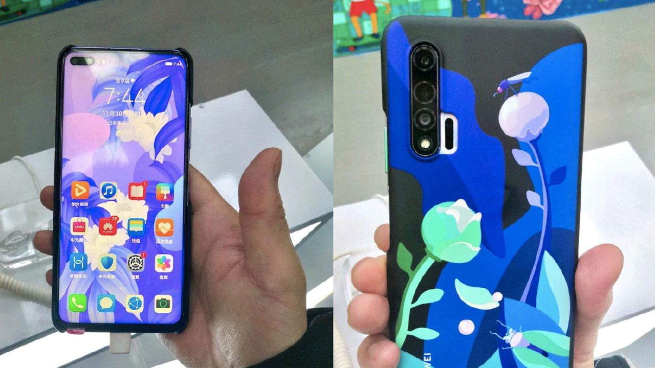 El Huawei Nova 6 se deja ver antes de su presentación oficial