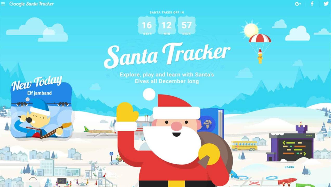 En vivo desde el Polo Norte con Google, llega el Santa Tacker 2019