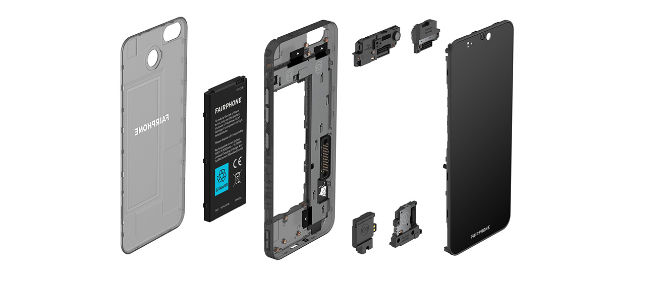 FAIRPHONE 3 - componentes