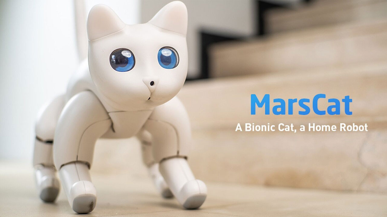 MarsCat, el gato robot que ha sorprendido a todos en Kickstarter