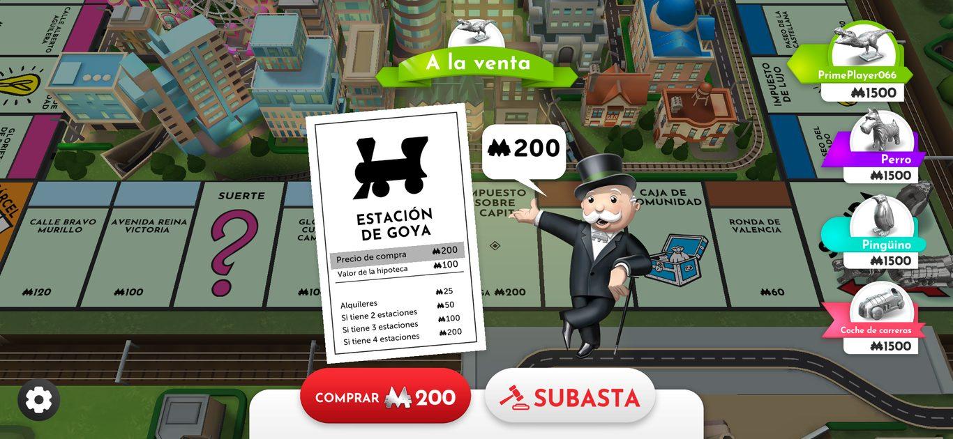 Monopoly para iOS y Android
