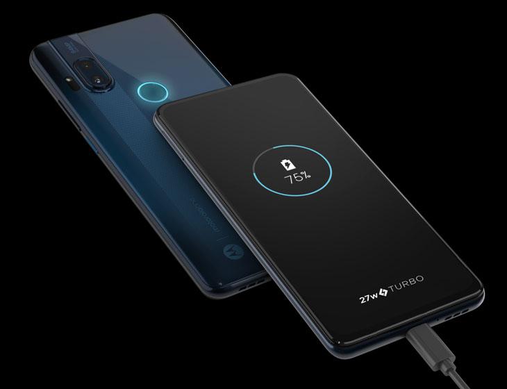 Motorola One Hyper - Carga rápida