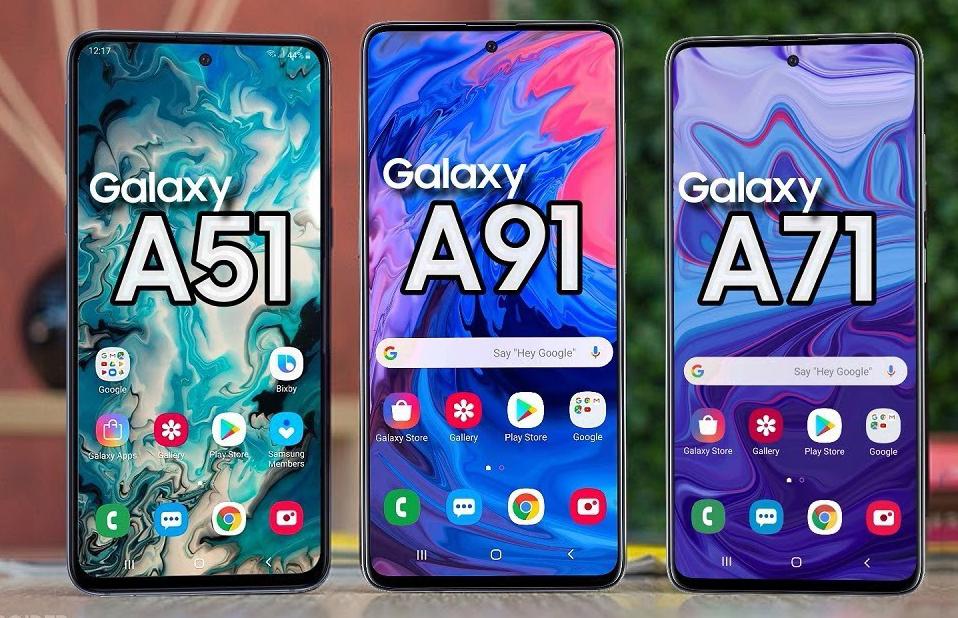 Samsung Galaxy A51, Galaxy A71 y Galaxy A91