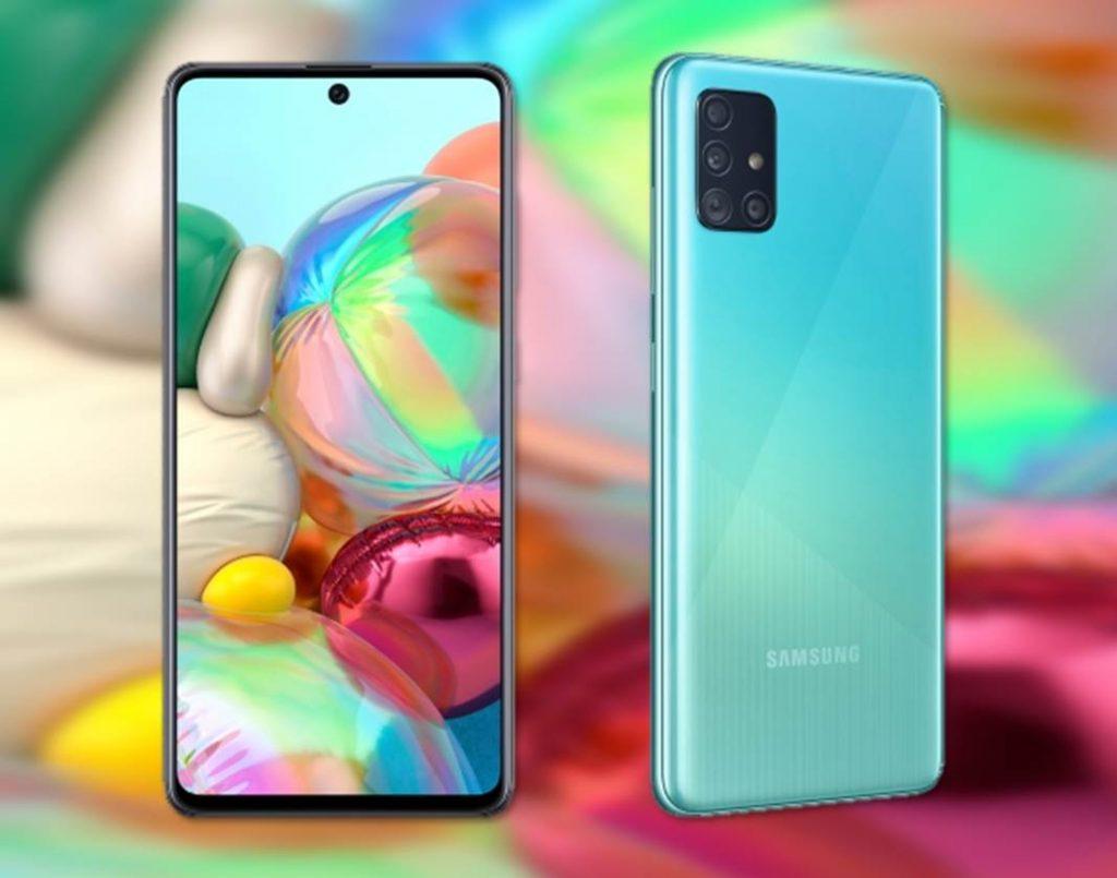 Samsung Galaxy A71 características precios