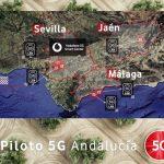 Vodafone y Huawei encabezan la expansión 5G en Andalucía con un proyecto piloto