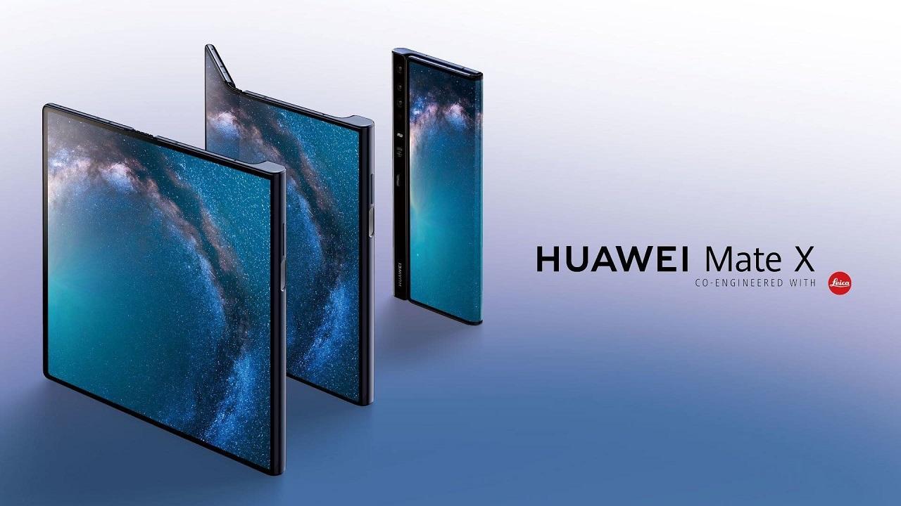 pantalla del huawei mate x