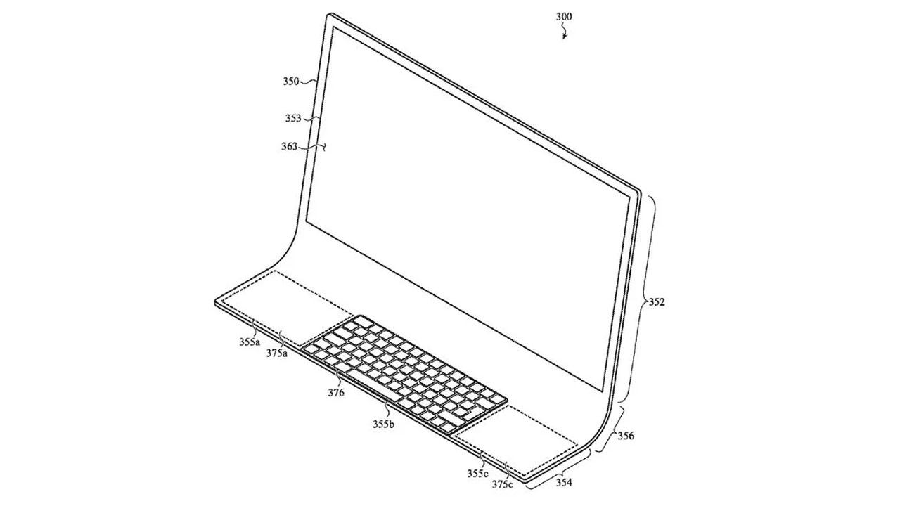 Apple patenta una iMac hecha de una sola lámina de cristal