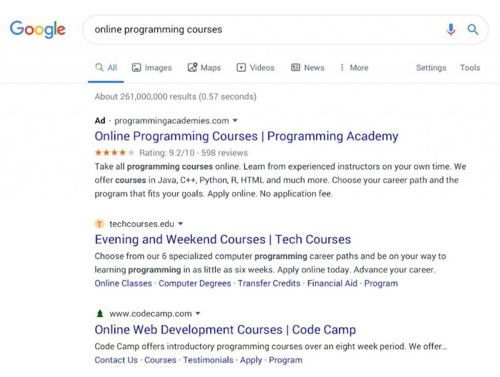 Google responde al criticismo del diseño de los resultados de búsqueda
