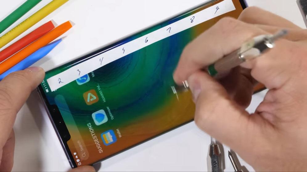 Huawei Mate 30 Pro - Resistencia de la pantalla