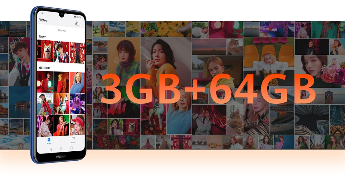 Huawei Y6s - Memoria