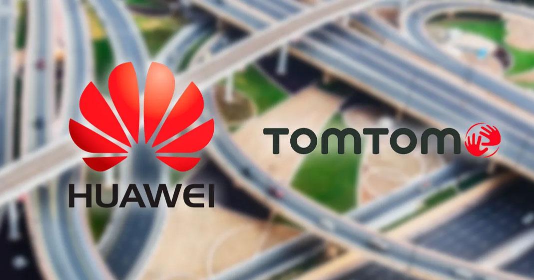 Huawei habría llegado a un acuerdo con TomTom