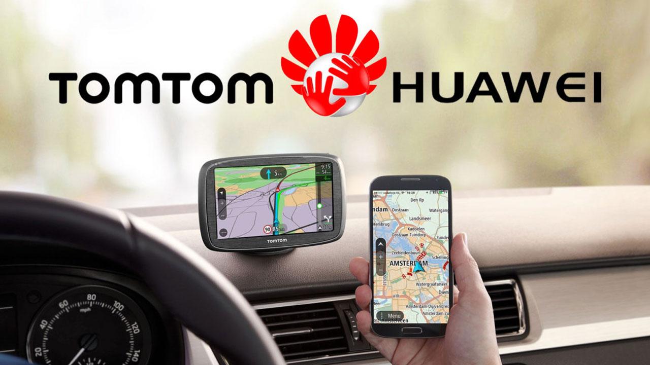 Huawei planea reemplazar a Google Maps con TomTom