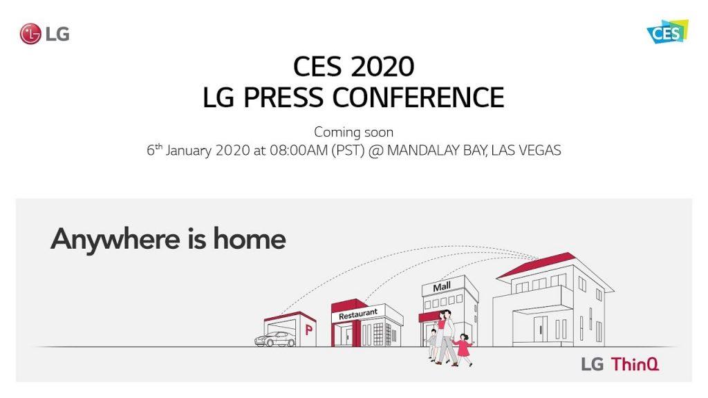 LG - CES 2020