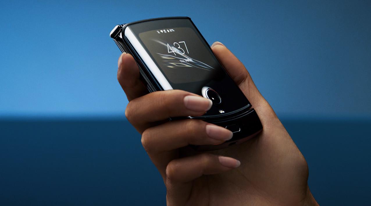 Motorola Razr - Pantalla secundaria