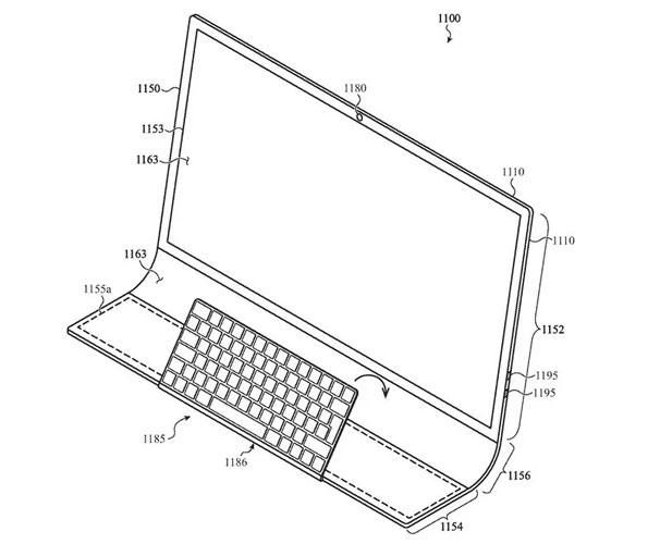 Patente de Apple - Diseño alternativo