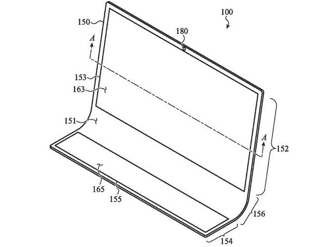 iMac hecho de cristal - Esquema