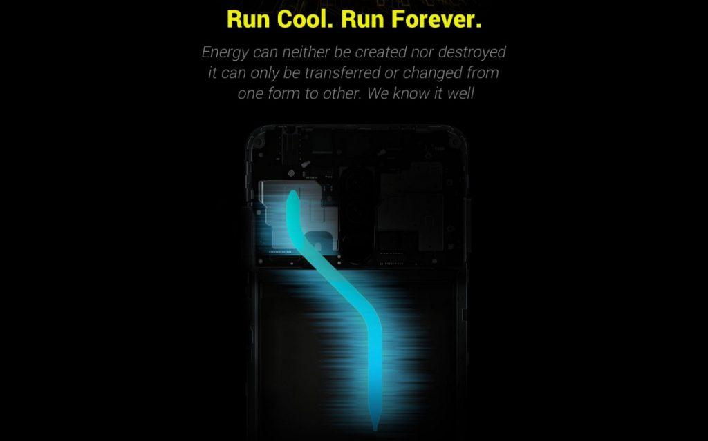 Poco X2 - Refrigeración líquida