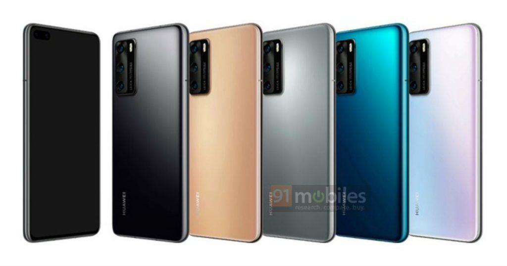 Serie Huawei P40