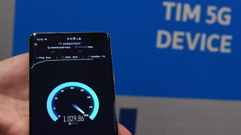 Telecom Italia superar el límite de velocidad 5G en Europa