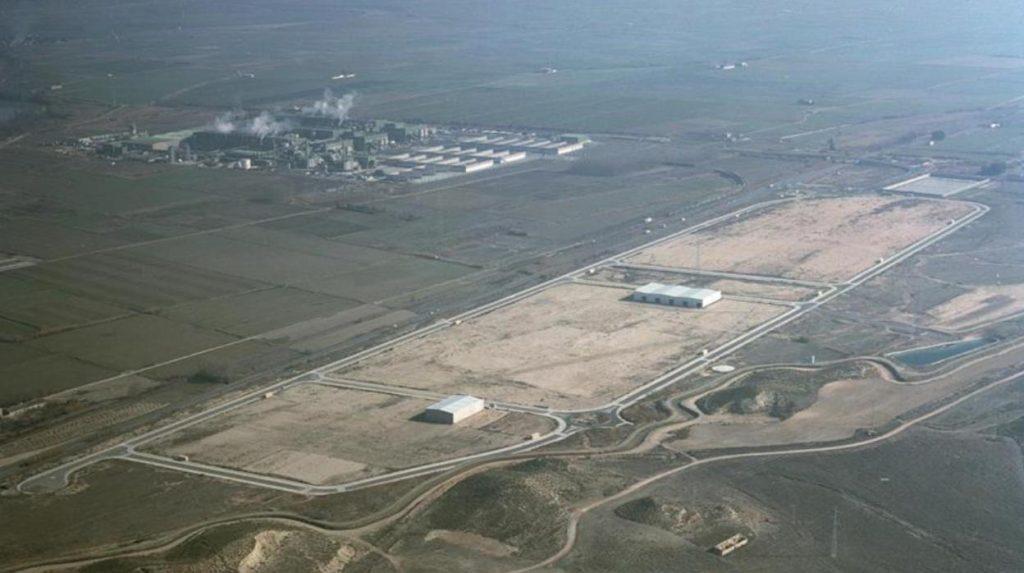 Vista aérea del Burgo de Ebro