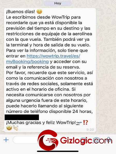 WowTrip Whatsapp 2