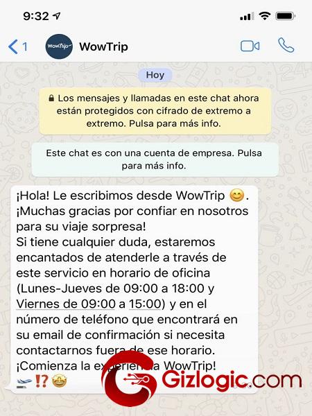 WowTrip whatsapp 1