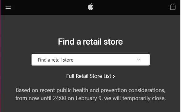 Apple toma precauciones
