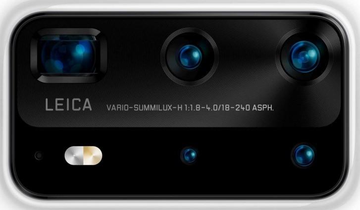 Cámaras del Huawei P40 Pro