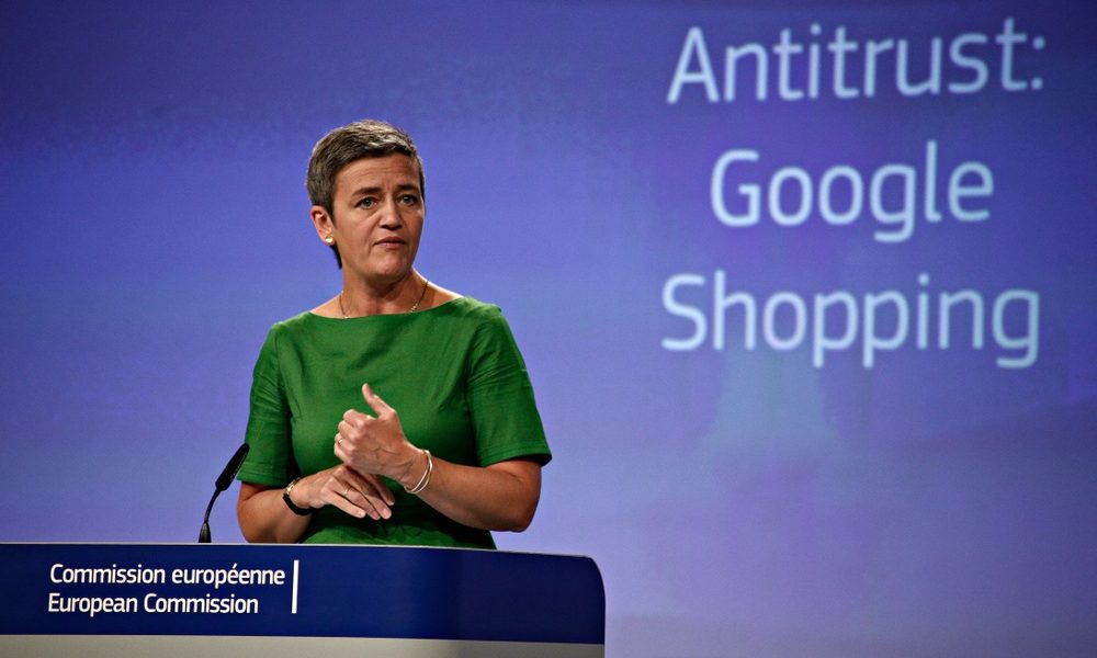 Caso antimonopolio de la UE contra Google