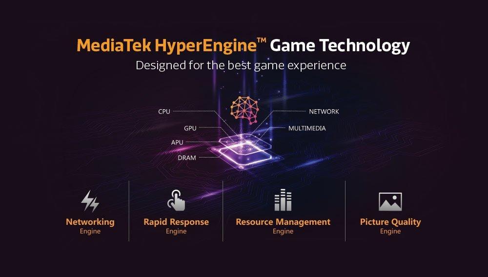 El Helio G80 en hace énfasis el Gaming