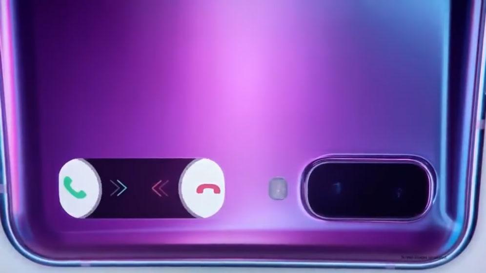 Samsung Galaxy Z Flip - Pantalla secundaria