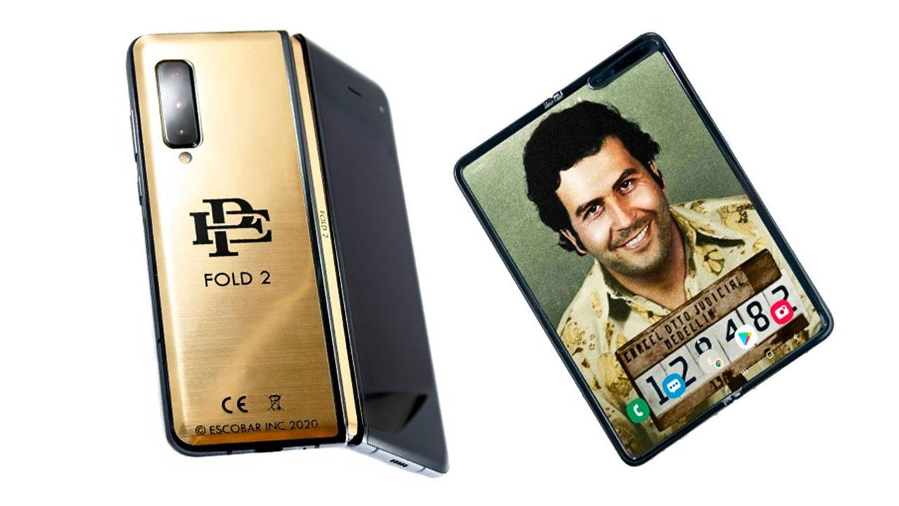 Escobar Fold 2, una bizarra imitación del Samsung Galaxy Fold