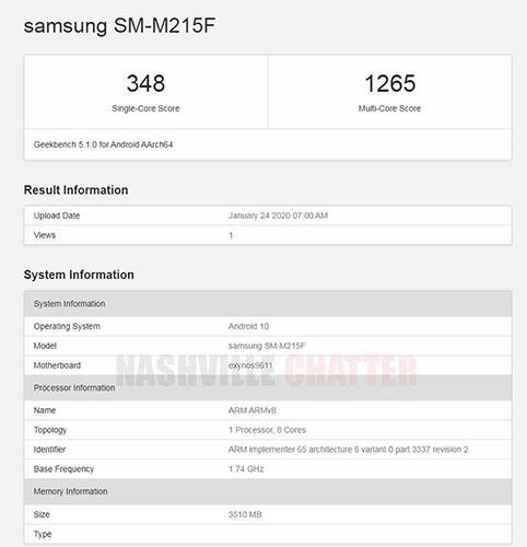 Esto es lo que sabemos del Samsung Galaxy M21