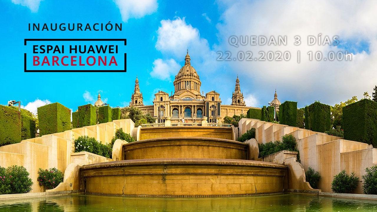Huawei abrirá una nueva tienda en Barcelona el día 22 y reafirma su presentación del 24