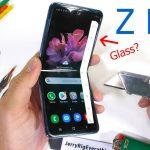 JerryRigEverything pone a prueba al Galaxy Z Flip, la pantalla no parece vidrio