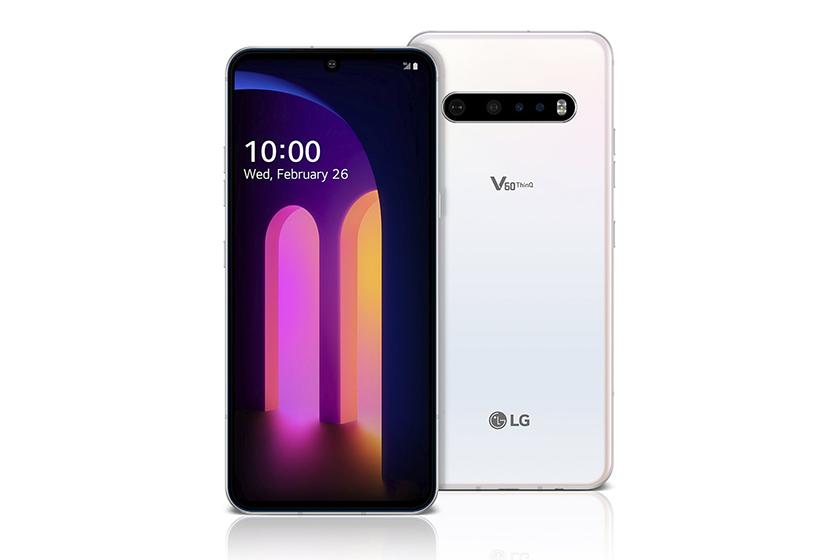 LG V60 ThinQ - Pantalla