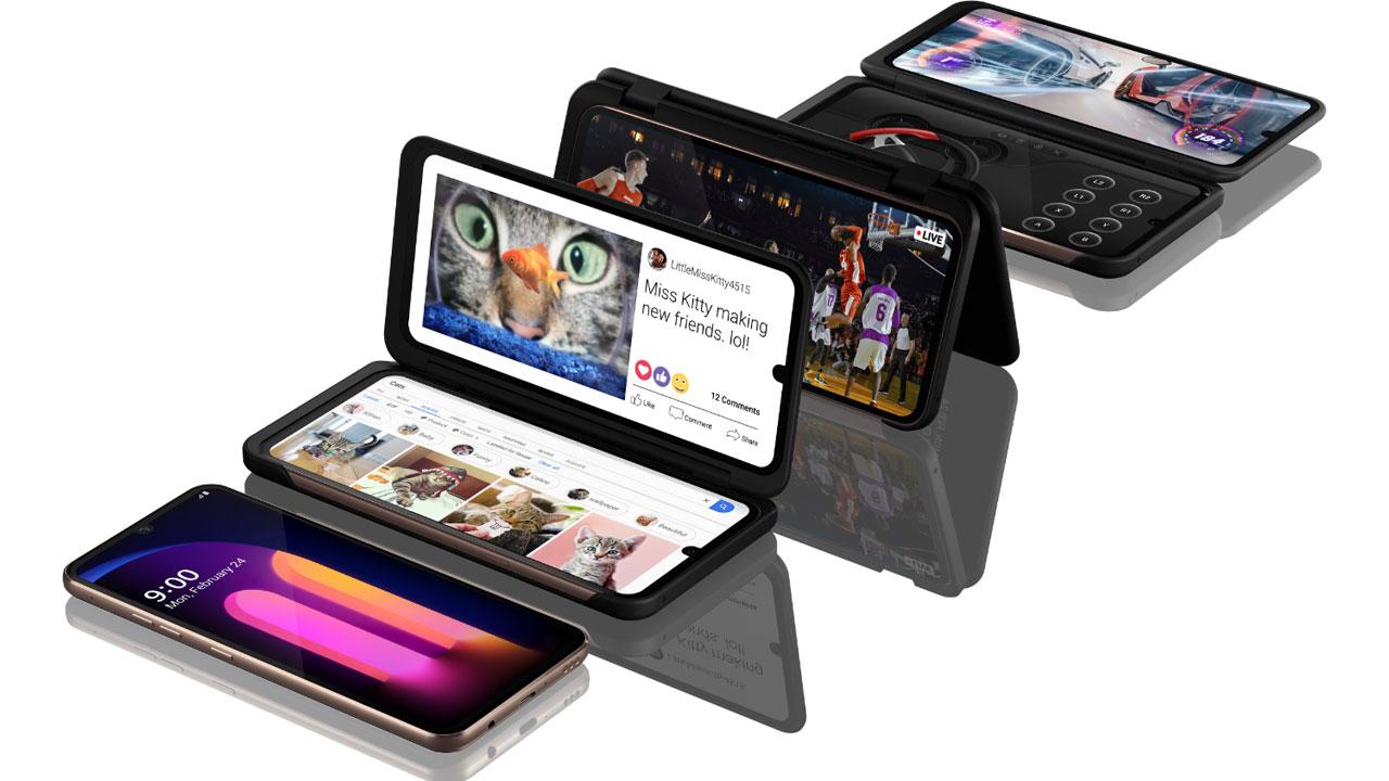 LG V60 ThinQ, un buque insignia con Snapdragon 865, 5G y pantalla dual