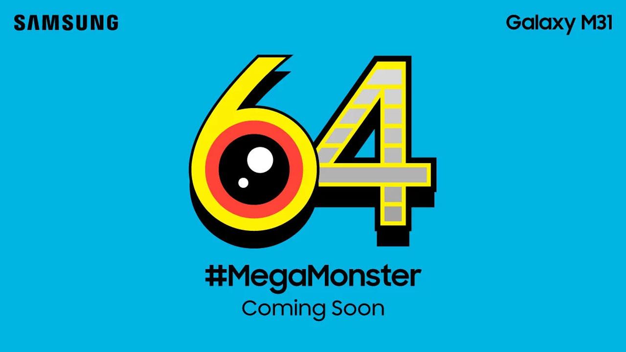 Samsung Galaxy M31, nuevos detalles de este gama media con cámara de 64MP