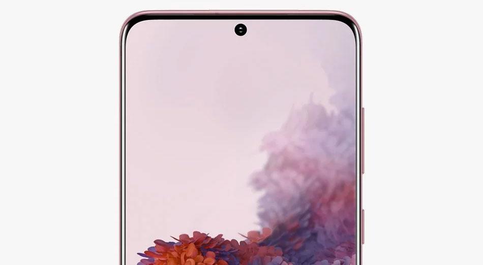 Samsung Galaxy S20 - Pantalla