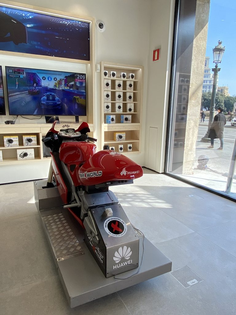 Simulador de MotoGP
