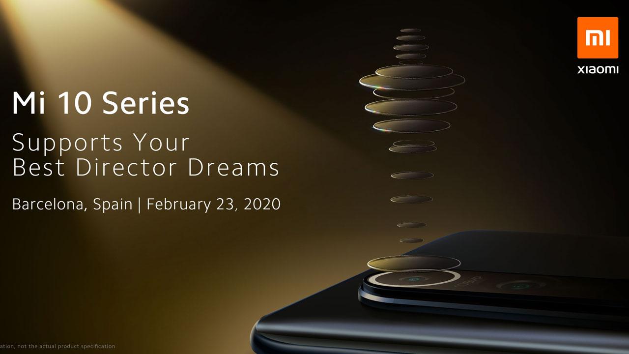 Xiaomi pospone el lanzamiento global de la serie Xiaomi Mi 10